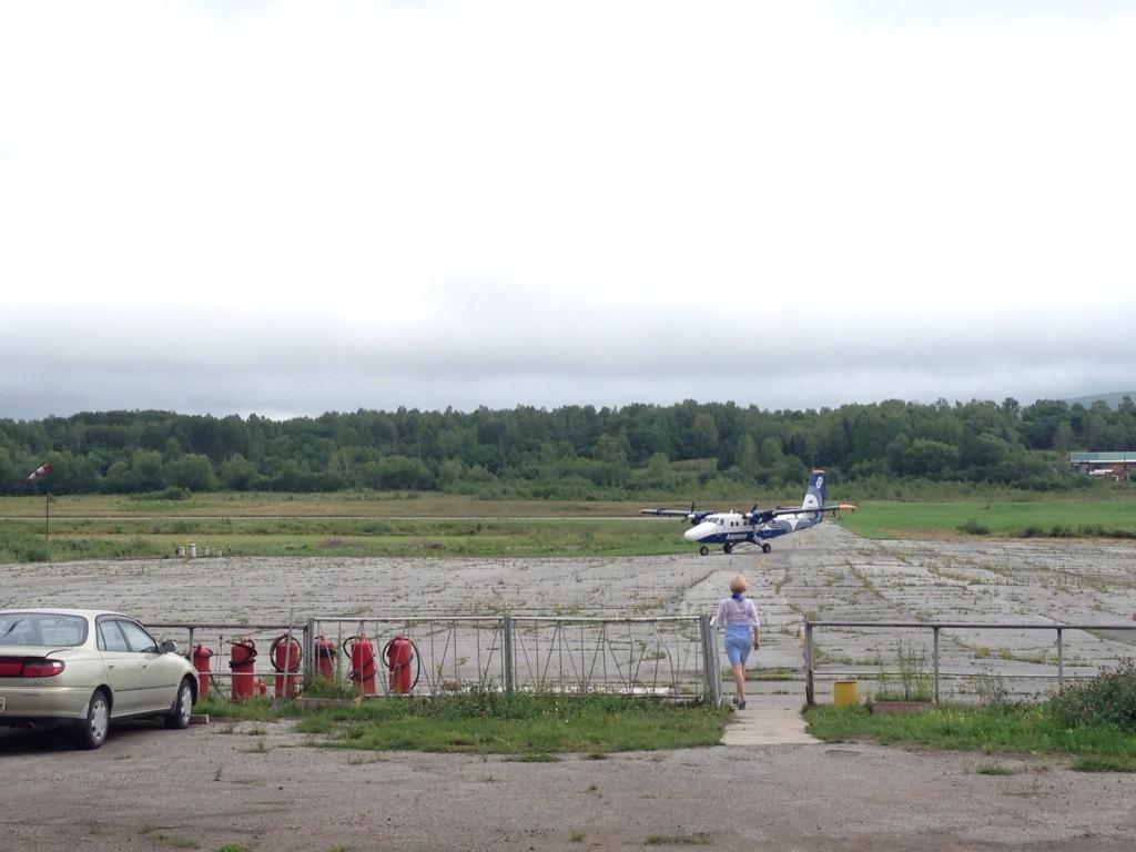 Лётное поле аэропорта Ковалерово