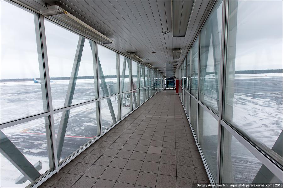 Аэропорт Сургут.